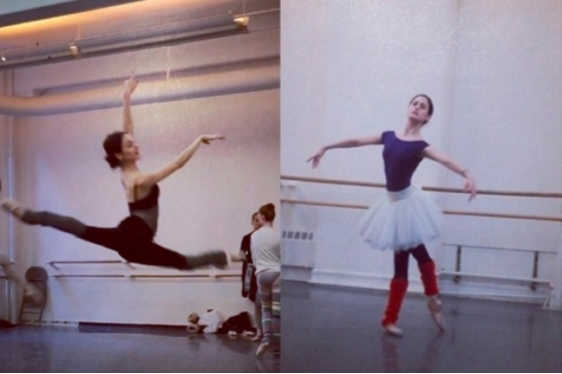 Η μπαλαρίνα Melanie Hamrick χορογραφεί ένα μπαλέτο σε μουσική Rolling Stones