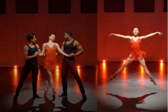 Η κορυφαία χορεύτρια Tiler Peck αναβιώνει το εμβληματικό φινάλε της ταινίας Κεντρική Σκηνή